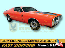1972 Dodge Charger Rallye COMPLETE Decals & Stripes Kit