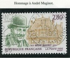 TIMBRE FRANCE OBLITERE N° 2966 ANDRE MAGINOT / Photo non contractuelle
