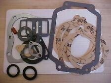 Kohler K181 8hp gasket set w/crank seals also for Kohler K161 7hp gasket set