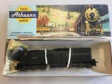 Sd9 Diesel Locomotive Undecorated HO Black Grey Unassembled Athearn 3800 Kit