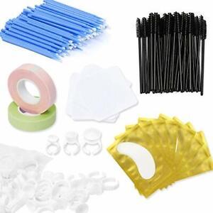 Eyelash Extension Supplies Eyelash Extensions Kit 100 Glue Ring Holder|