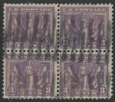 "US Stamps - Scott # 537 - ""Victory"" Issue - Used Block of 4 - VF         (H-307)"