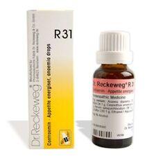 Dr. Reckeweg R31 aumenta el apetito y remedios homeopáticos 50 Ml de suministro de sangre