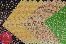 PAPIER DECO YUZEN ORIGAMI 20 WASHI CHIYOGAMI PAPER MADE IN JAPAN PAPIR CARTA