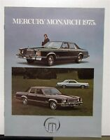 1975 Mercury Monarch Canadian Sales Brochure & Specifications In French Text