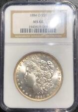 1884 O $1 Morgan Silver Dollar NGC MS 66