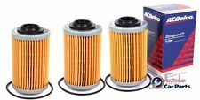 Oil Filter 3 pack VZ VE VF V6 Holden Commodore 2004-2017 ACDelco genuine ac088