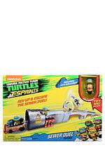 NEW Teenage Mutant Ninja Turtles T-Sprints Sewer Duel Playset
