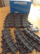 Pista De Tren De Playmobil - 4385/12 curvas y conectores Curvado-Escala G
