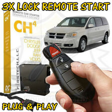 2011 DODGE GRAND CARAVAN PLUG & PLAY REMOTE START ADD ON FT-CH4-DC COMPUSTAR