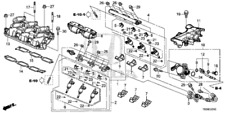 Genuine Honda Injector Set Fuel 16010-RLV-315