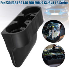 Black Front Cup Holder For BMW 1 3 series E30 E36 E39 E46 E60 E90 Z4 Z3 328i 335