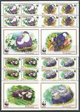 STAMPS-AITUTAKI. 2002. WWF –  Endangered Species Set in Sheetlets. SG: 717/20.