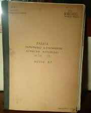 BESCHREIBUNG UND WARTUNG DIESELLOK MITSUBISHI TEIL B (GRIECHENLAND) RARITAT