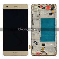 Gold Huawei P8 Lite ALE-L21 Touch digitizer+LCD Screen Display assembly & Frame