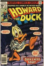 Howard The Duck #12 1977 Vf+ Kiss 1St Brief Appearance