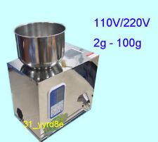 100g Food Powder Packaging Machine Seeds Grain Powder Filler Weigher 110V