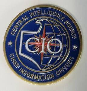 Central Intelligence Agency CIA Chief Information Officer CIO Challenge Coin