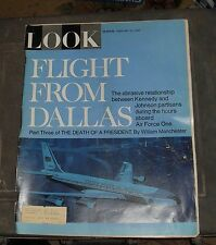 Look Magazine. Death of a President John F. Kennedy  February 21, 1967 Vintage!