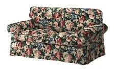 Ikea Ektorp 2 Seat Loveseat Lingbo Floral Slipcover - Roses Shabby Chic - In Box