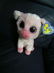 TY Corky Pig Plush Beanie Boo