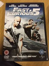 Fast and furious 1 and fast and furious 5 DVDs