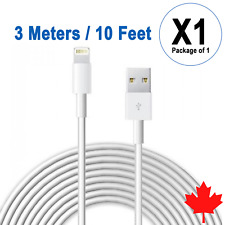 10FT 3M USB Data Sync Charger Cable for iPhone X Xs Max Xr 8 8Plus 7 6s 6 5s SE