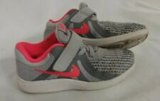 New Nike Revolution 4 -10c Girls Sneakers Tennis Shoes Gray/Pink 943308 003