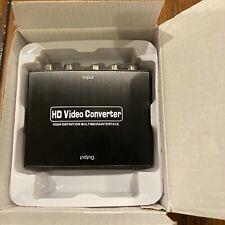 YPBPR TO HDMI 1080p TO RGB COMPONENT VIDEO+R/L AUDIO ADAPTOR CONVERTER SPLITTER
