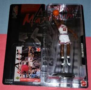 1999 MICHAEL JORDAN Chicago Bulls NM/MINT *FREE_s/h* Mattel Maximum Air #23 1991