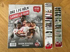 REWE Stickerstars: 1.FC Köln 1/5/10/20/30/50/100 Sticker aussuchen aus 160 19/20