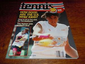 "VINTAGE SEPTEMBER 1990 "" TENNIS "" MAGAZINE - JENNIFER CAPRIATI COVER - MINT"