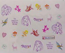 NAIL ART SPILLA MAGIC Fiore Uccelli Love Girl Nail Art Acqua Decalcomania Adesivo interesse
