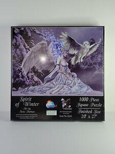 "Nene Thomas ""Spirit of Winter"" 1000 piece Jigsaw Puzzle  20""x27"" NIB"