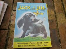 JACK and JILL AUGUST 1961 USA VERY GOOD, TRES BON ETAT, WITHOUT CENTRAL GAME