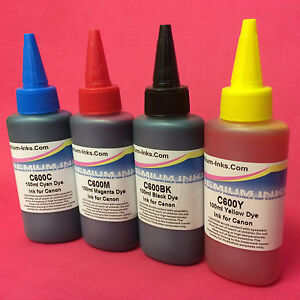 400ML PRINTER INK REFILL FOR CANON PIXMA MG 5150 5250 5350 6150 CISS refillable