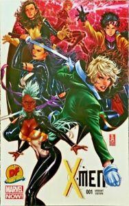 X-MEN #1 DF Dynamic Forces exclusive Mark Brooks variant w/COA NM B4.