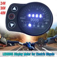 LED900S Display Meter 24V/36V/48V for Electric Bicycle 5pin Ebike LED Display !