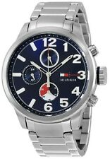 NEW* Tommy Hilfiger Jackson Stainless Steel Chronograph Mens Watch 1791242 $195