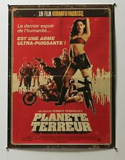PLANET TERROR - ORIGINAL FRENCH 2007 16 X 22 MOVIE GRINDHOUSE POSTER SEXY ART -Z