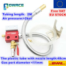 【EU+UK】Metal Mist Coolant Lubrication Spray System CNC Lathe Milling Machine