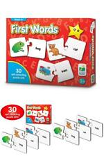 The Learning Journey Match It! - First Words - 30 Self-Correcting Words With Mat