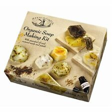 ORGANIC HAND MADE SOAP MAKING KIT BY HOUSE OF CRAFTS OILS SEEDS PETALS