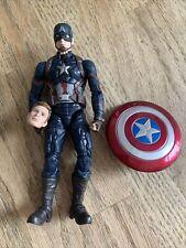 Marvel Legends MCU The First 10 Years Civil War Captain America Photo Head