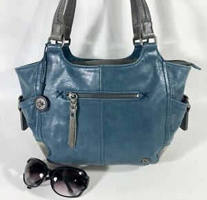 THE SAK Kendra Hobo Blue/Gray