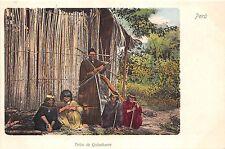 B86458 tribu de quinchacre   peru ethnics types folklore