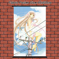 Cloth Cloth Poster Wall Scroll Chobits Chi Anime Girl Home Decoration 60x40cm