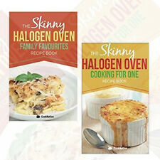 Halogen Oven collection (Family Favourites Recipe, Cooking for one) 2 Books Set