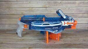 NERF N-Strike Elite HAIL FIRE Automatic Blaster Dart Gun - Works