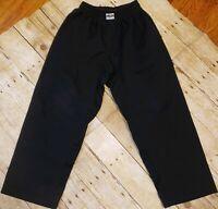 Macho Martial Arts Gi Pants Size Youth Black Boxing Karate Tae Kwon Do MMA Judo